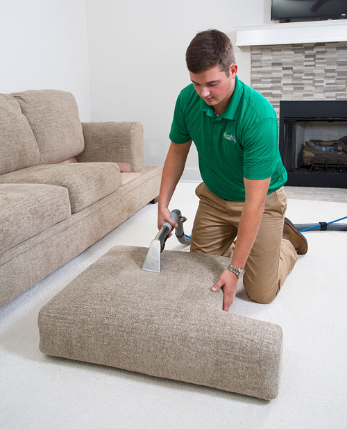 Mark Ray's Chem-Dry professional upholstery cleaning in Stockton, California