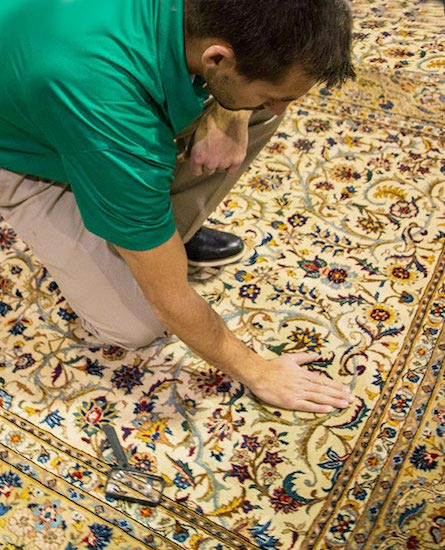 Professional Area and Oriental Rug Cleaning by Mark Ray's Chem-Dry in Stockton